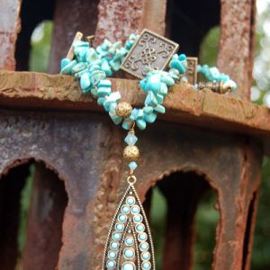 Turquoise Temple Dream