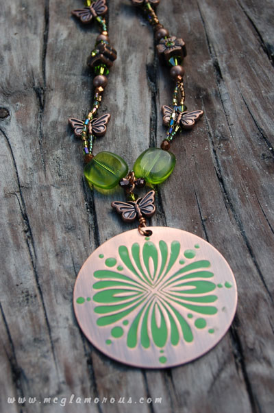The Copper Fern Necklace