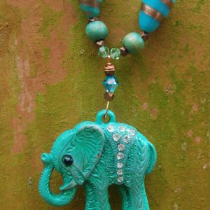 Mint Green Elephant