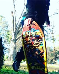 Jim Theibaud Vintage Skateboard Deck For Sale