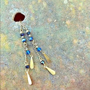 Blue Bohemian Earrings